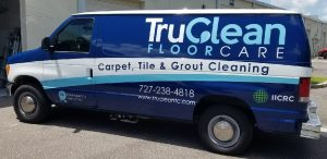 Raleigh Commercial Vehicle Wraps Vehicle Wrap Tru Clean 300x146
